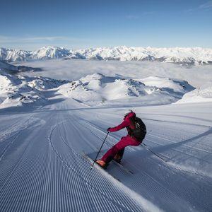 Skifahren ©Johannes Sautner (Zillertal Arena)