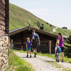 Familienwandern ©Johannes Sautner (Zillertal Arena)
