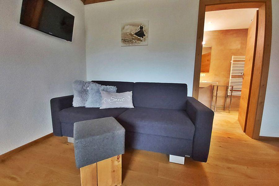 bequeme Couch im Doppelzimmer ©Lexnerhof